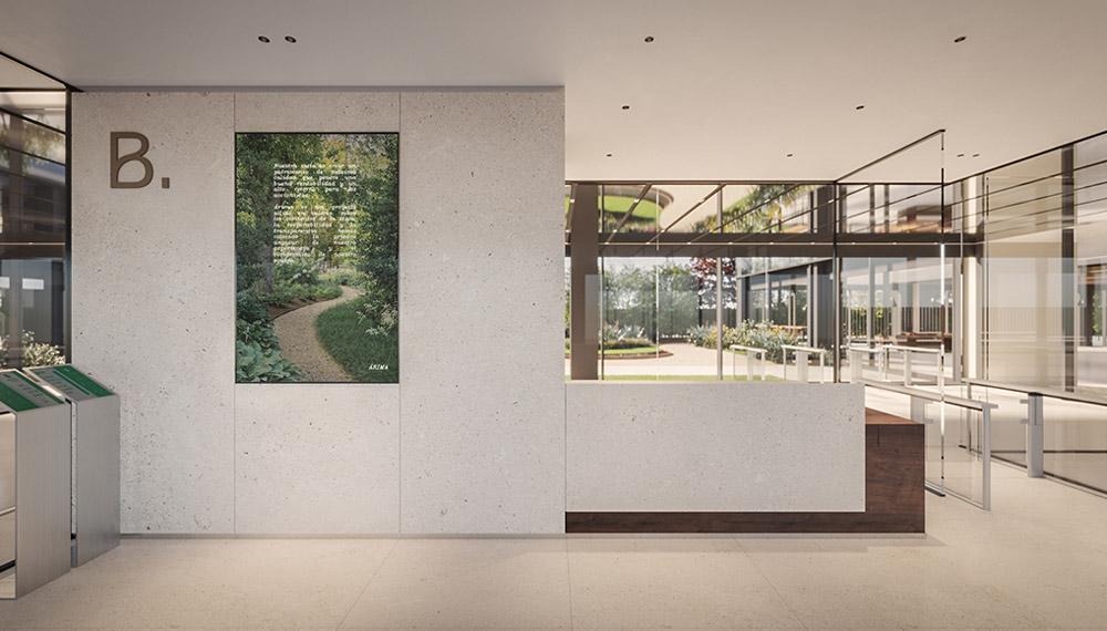 Edificio Botanic - Entrada invitados